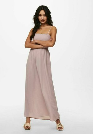 GESMOKTES - Maxi dress - violet ice