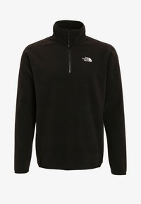 The North Face - GLACIER 1/4 ZIP - Bluza z polaru - black - 8