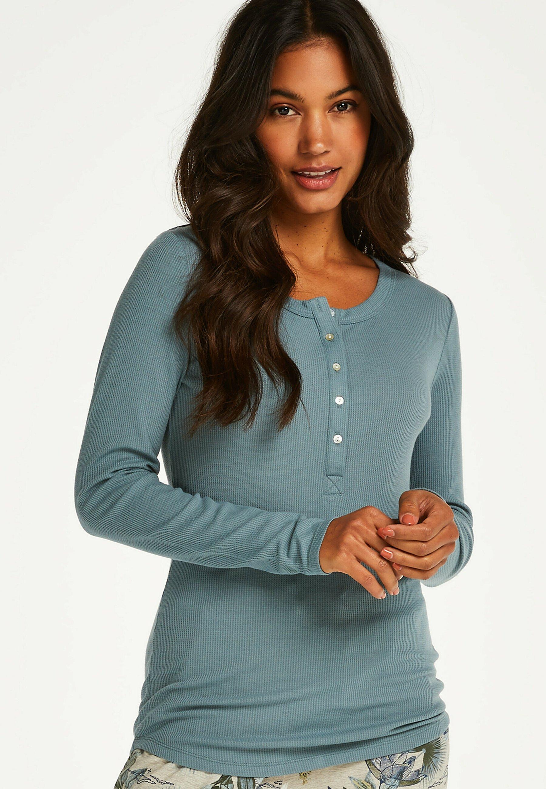 Damen LANGARM - Nachtwäsche Shirt