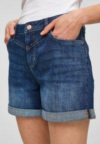 Q/S designed by - Denim shorts - blue - 3