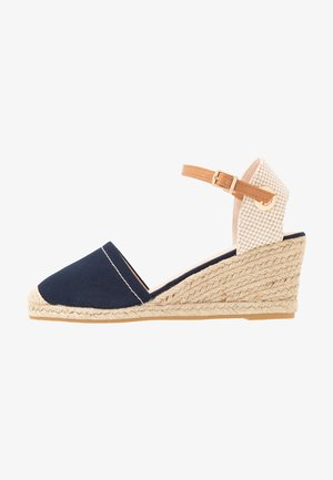 WIDE FIT ROSE PART - Espadrilles - navy