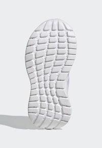 adidas Performance - TENSAUR RUN UNISEX - Neutral running shoes - ftwr white/purple tint/vapour pink - 4