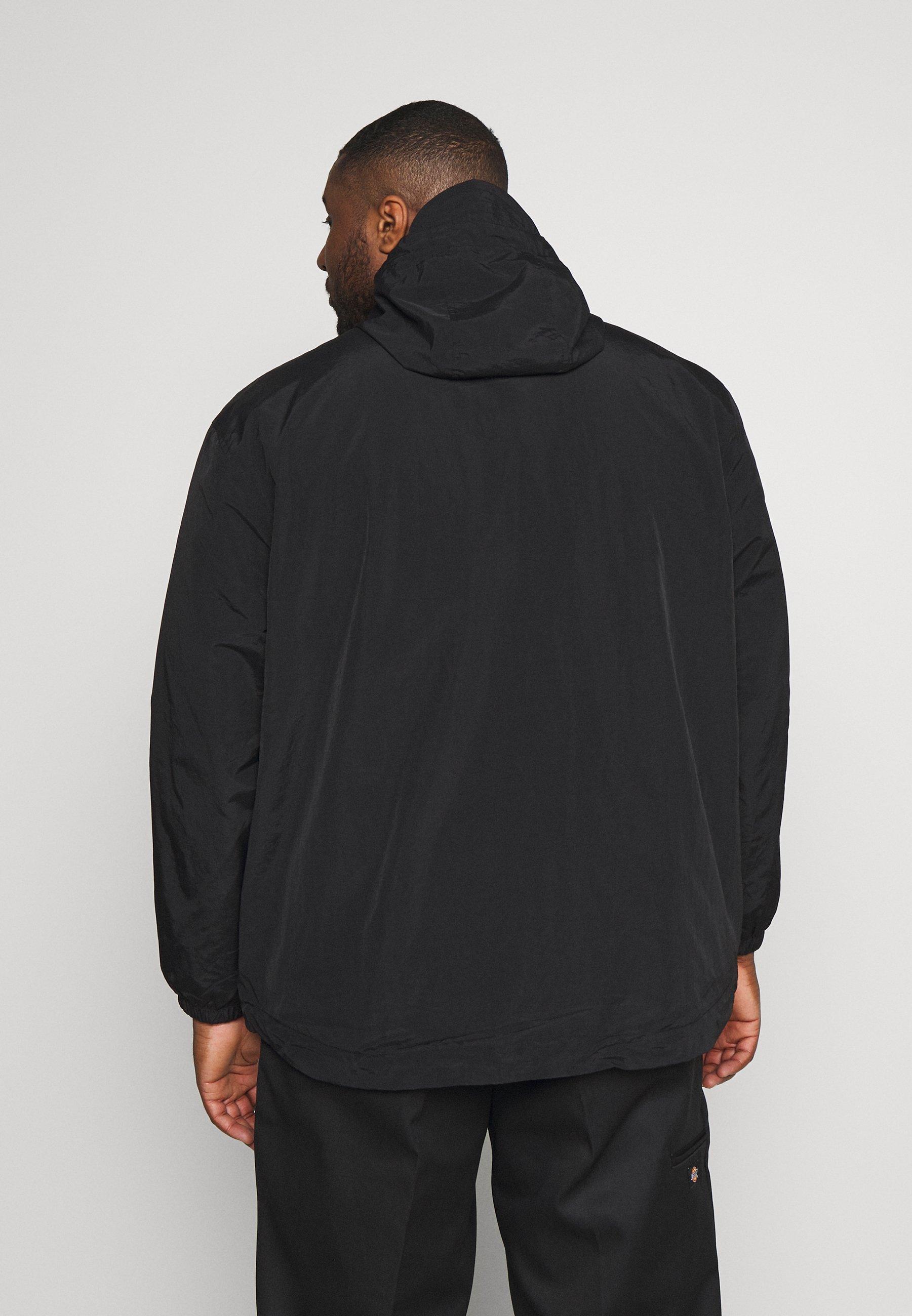 Ostaa Miesten vaatteet Sarja dfKJIUp97454sfGHYHD Lyle & Scott PLUS ZIP THROUGH HOODED JACKET Kevyt takki black