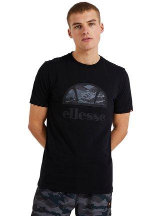 ALTA VIA TEE  - Print T-shirt - schwarz