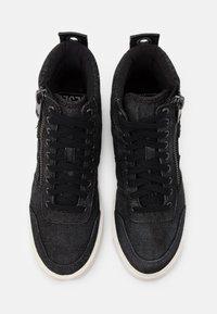 Diesel - D-VELOWS S-DVELOWS - Sneakers alte - black - 3