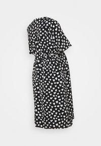 Glamorous Bloom - WRAP DRESS MATERNITY - Vestido informal - black - 1