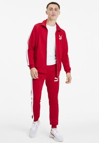Puma - PUMA ICONIC T7 MEN'S TRACK JACKET MALE - Träningsjacka - high risk red - 0