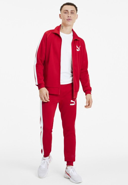 Puma - PUMA ICONIC T7 MEN'S TRACK JACKET MALE - Träningsjacka - high risk red