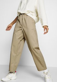 Champion Reverse Weave - LONG PANTS - Trousers - beige - 5
