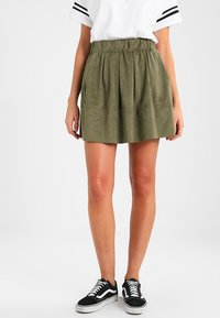 Moves - KIA - A-line skirt - dusty olive green - 0