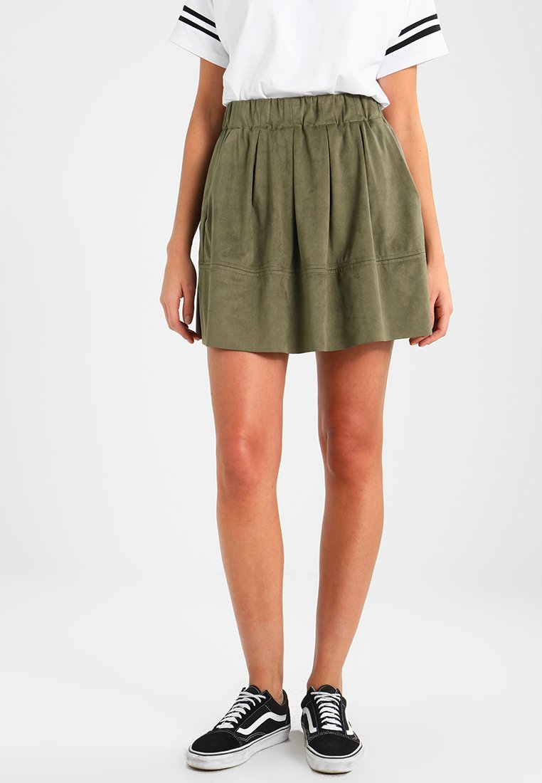 Moves - KIA - A-line skirt - dusty olive green