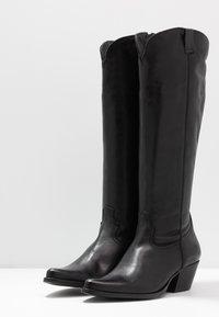 Apple of Eden - CELYN - Cowboy/Biker boots - black - 4