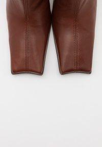 MIISTA - NOOR - High heeled boots - brown - 5
