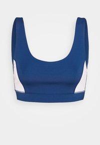 Sports bra - white/navy