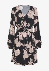 ONLY - ONLALMA LIFE DRESS - Vapaa-ajan mekko - black/vintage flower - 2