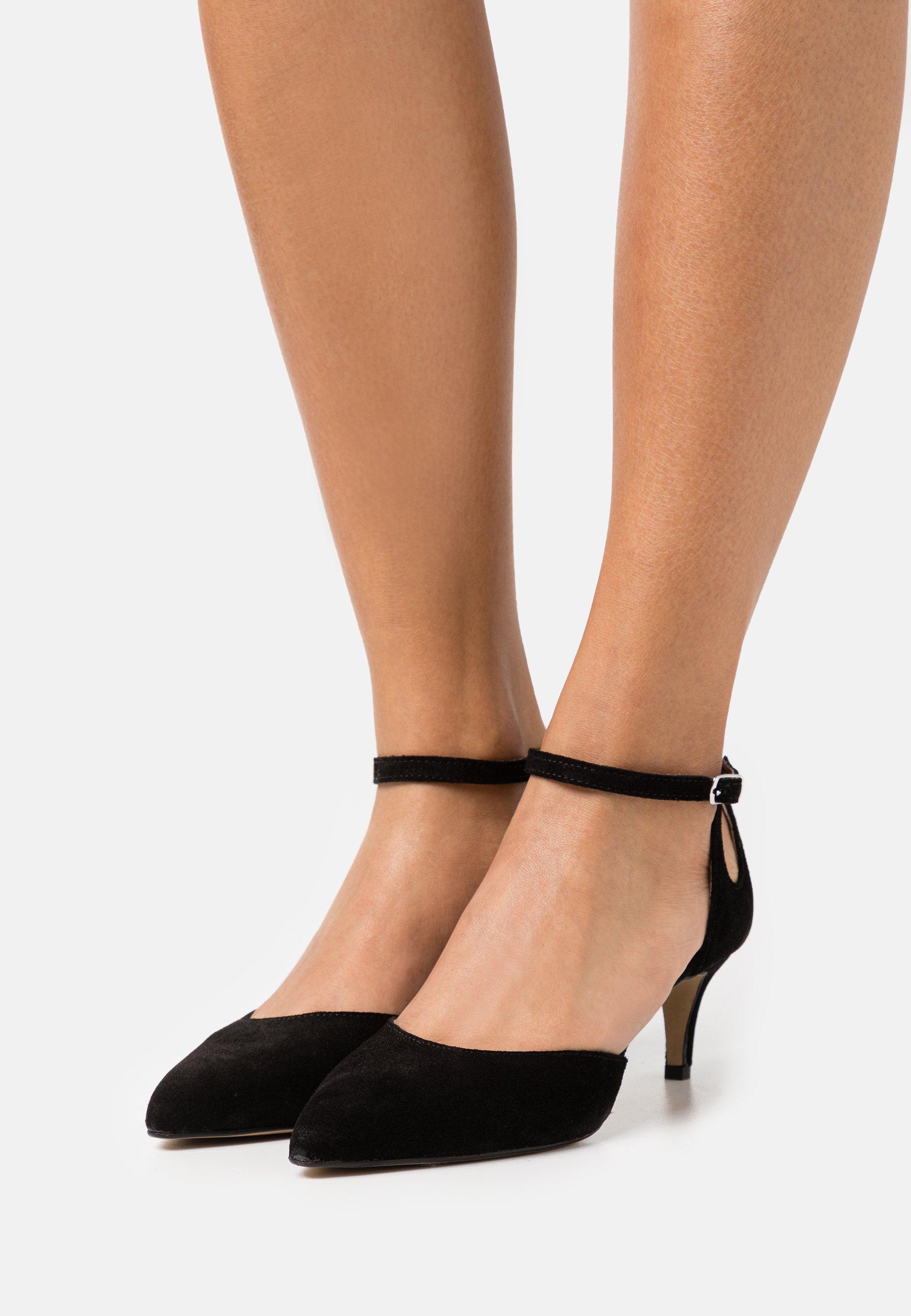 Femme BIADARBIE STRAP - Escarpins - black