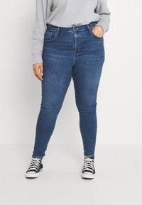 Levi's® Plus - MILE HIGH - Jeans Skinny Fit - blue denim - 0