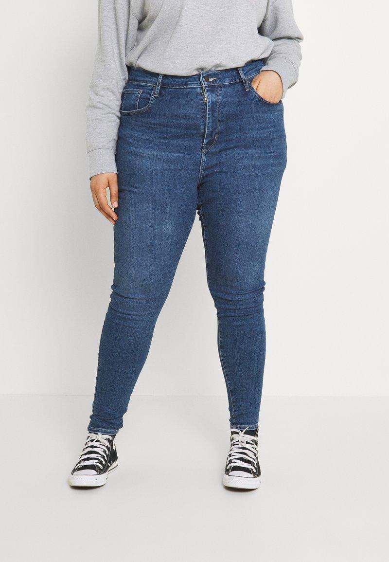 Levi's® Plus - MILE HIGH - Jeans Skinny Fit - blue denim