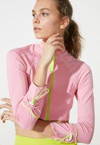 Trendyol - Training jacket - pink - 0