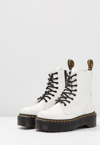 Dr. Martens - JADON ZIP - Bottines à plateau - white - 4