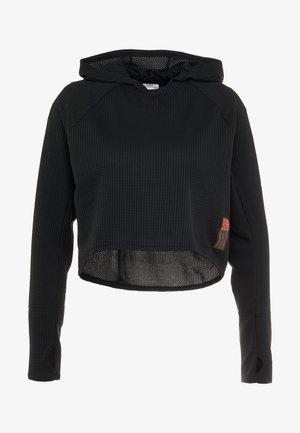 ADAPT HOODIE - Funktionsshirt - black