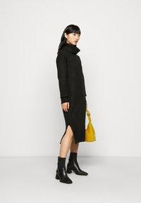 New Look Petite - ROLL NECK DRESS - Jumper dress - black - 1