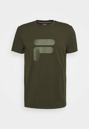 ROBIN - Print T-shirt - forest night