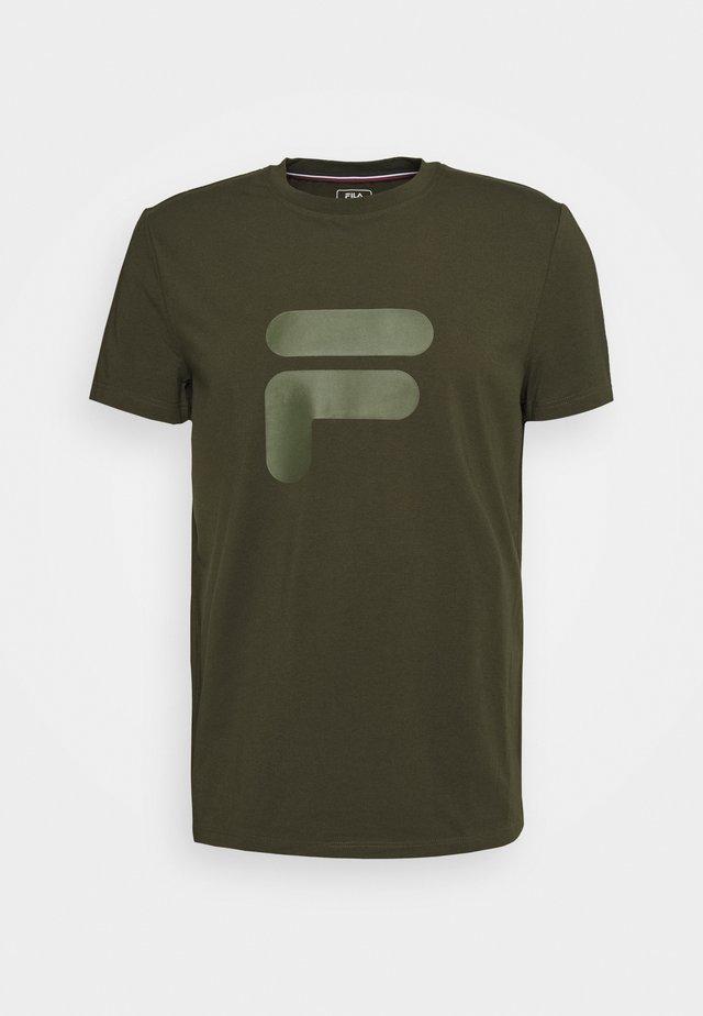 ROBIN - T-shirt imprimé - forest night