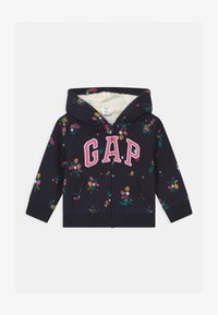 GAP - TODDLER GIRL LOGO - Zip-up hoodie - navy - 0
