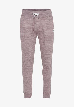 HENNY - Tracksuit bottoms - wine red