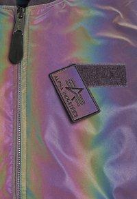 Alpha Industries - RAINBOW REFLECTIVE - Bomber Jacket - rainbow/reflective - 8
