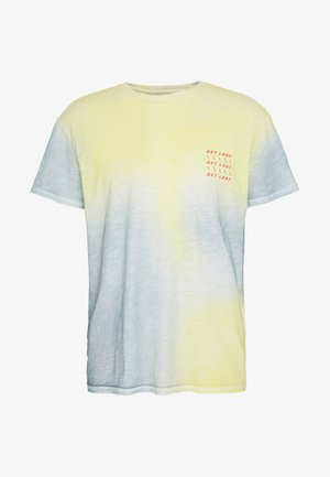 JORSOAP TEE CREW NECK - T-shirt med print - ashley blue