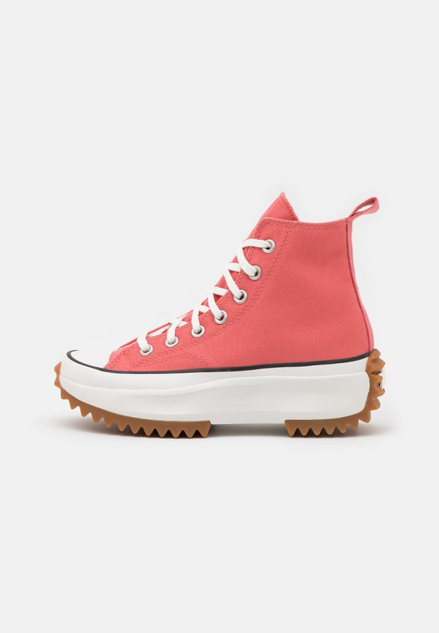RUN STAR HIKE UNISEX - High-top trainers - terracotta pink/vintage white/honey