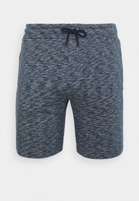 Shorts - mottled dark blue