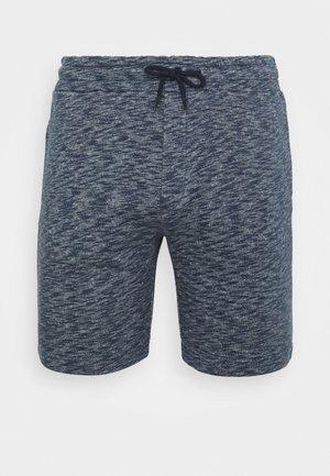 Shorts - mottled dark blue
