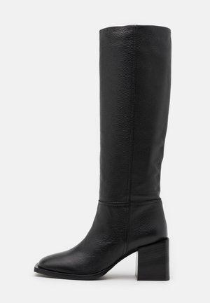 LANDING - Høje støvler/ Støvler - black