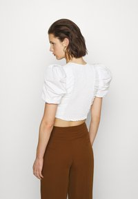 Who What Wear - THE PARTY - Blouse - white - 2