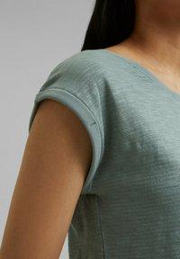 Esprit - Basic T-shirt - turquoise - 3
