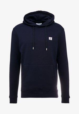 PIECE HOODIE - Hoodie - navy/lavender
