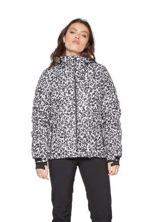 Snowboard jacket - off white/black