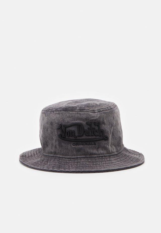 FISHINGHAT UNISEX - Cappello - washed black
