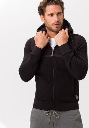 STYLE SAMMY - Zip-up hoodie - black