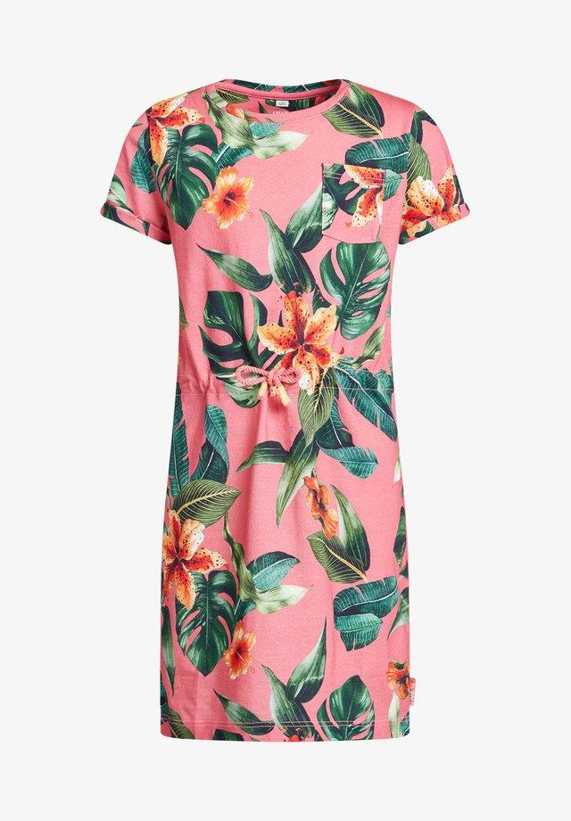 Jerseykleid - multi-coloured, pink