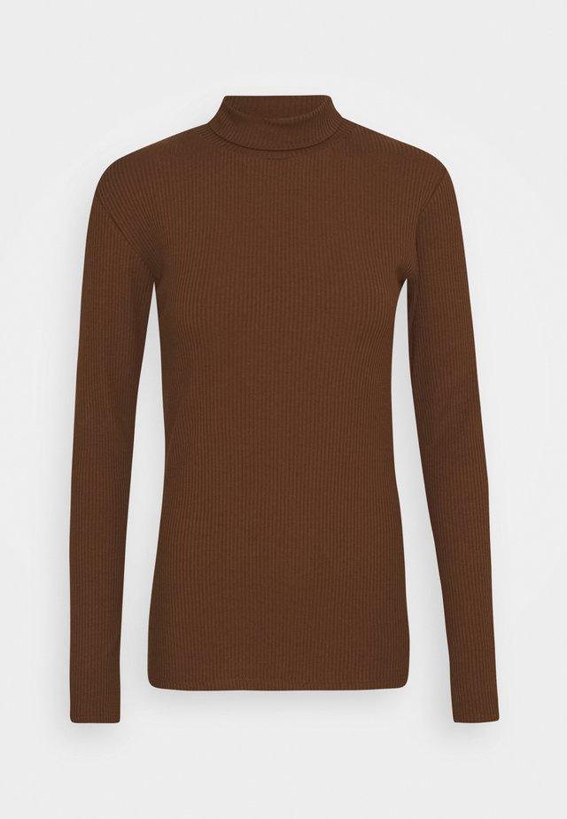 ORSON - T-shirt imprimé - pecan