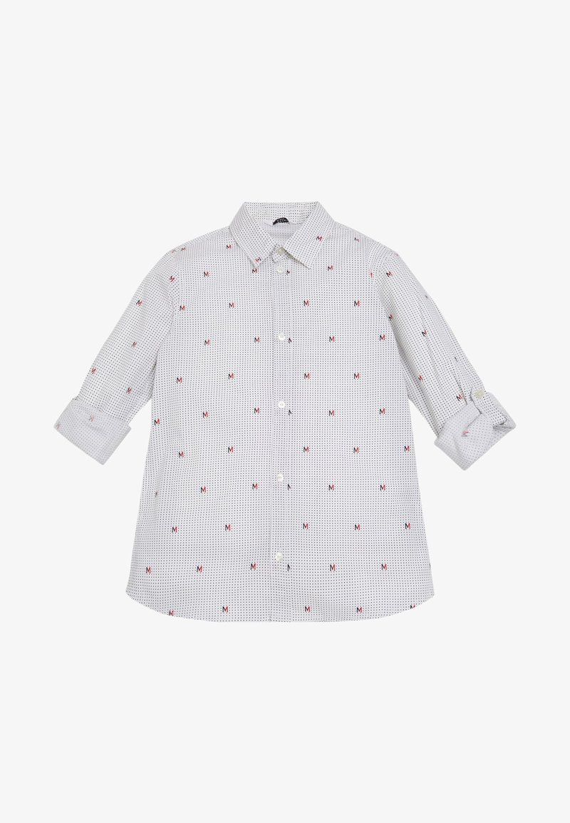 Guess - MARCIANO ALLOVER-LOGO - Shirt - white multi