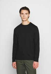 Burton Menswear London - 2 PACK CREW  - Mikina - black - 1