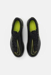 Nike Performance - PHANTOM GT CLUB IC UNISEX - Halové fotbalové kopačky - black/cyber/light photo blue - 3