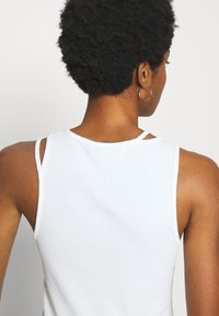 Weekday - CALYPSO CUT OUT TANK - Top - white - 4