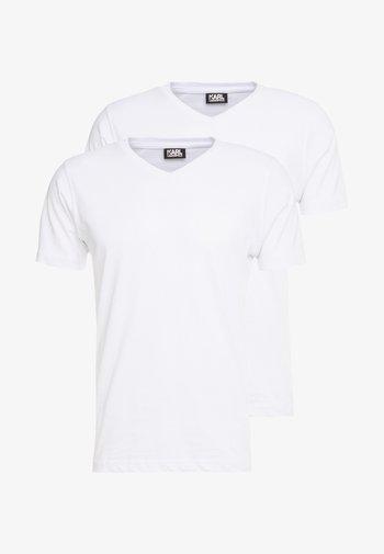 DUO 2 PACK - Basic T-shirt - white