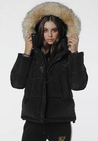 SIKSILK - Winter jacket - black - 0